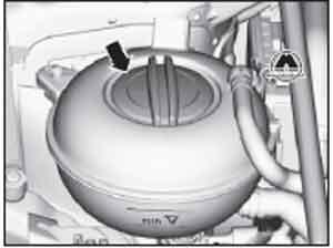 бачок охлаждающей жидкости Skoda Octavia, бачок охлаждающей жидкости Skoda Octavia Combi