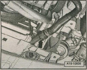 система охлаждения наддувочного воздуха VW Golf 6