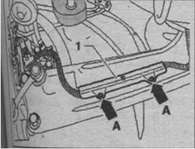 стержни распорных пистонов Volkswagen Tiguan