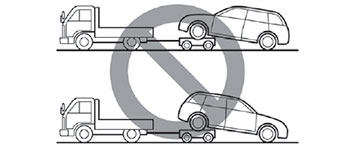 Буксировка Subaru Legacy