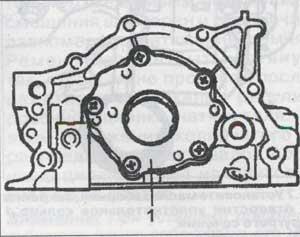 крепление масляного насоса Suzuki Wagon R, крепление масляного насоса Opel Agila