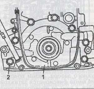 крепление насоса Suzuki Wagon R, крепление насоса Opel Agila