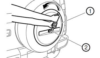 Декоративная крышка колеса Suzuki Jimny