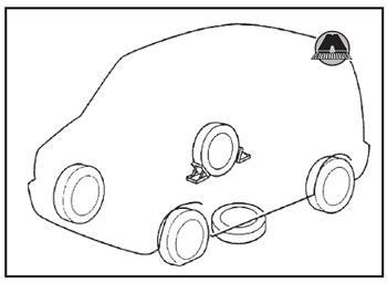 Противооткатные упоры Suzuki New SX4