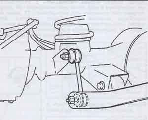 стойка стабилизатора Suzuki Jimny