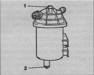 топливный фильтр Opel Zafira