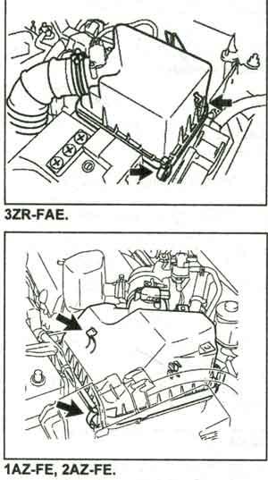 фильтрующий элемент Toyota RAV4