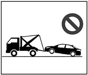 Эвакуатор Toyota Corolla