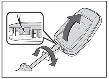 Ключь Toyota Camry
