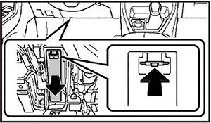 Крышка предохранителей Toyota Rav4