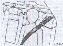 Направляющие ремня безопасности Toyota Camry