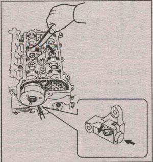 плунжер натяжителя распредвала Toyota Passo, плунжер натяжителя распредвала Daihatsu Boon
