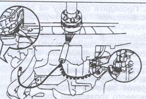распределитель Toyota Previa