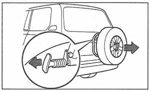 Ручка блокировки Toyota Land Cruiser 100