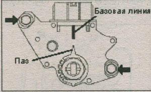 стрелка рычага приводного вала Toyota Corolla