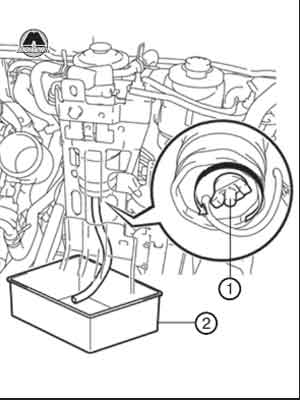 сливной кран Toyota Rav4