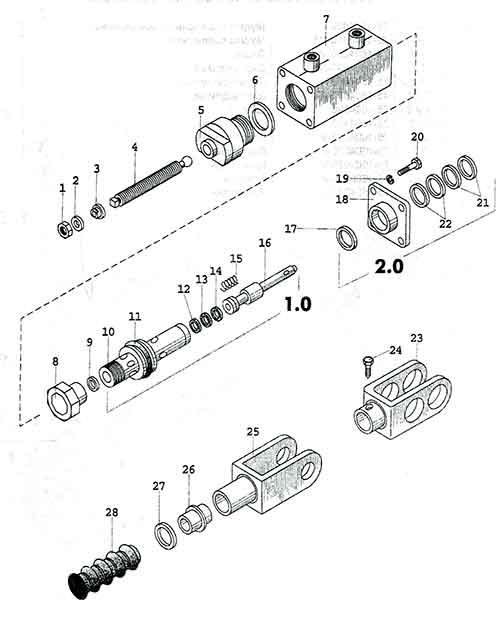гидроусилитель муфты сцепления ЮМЗ 80