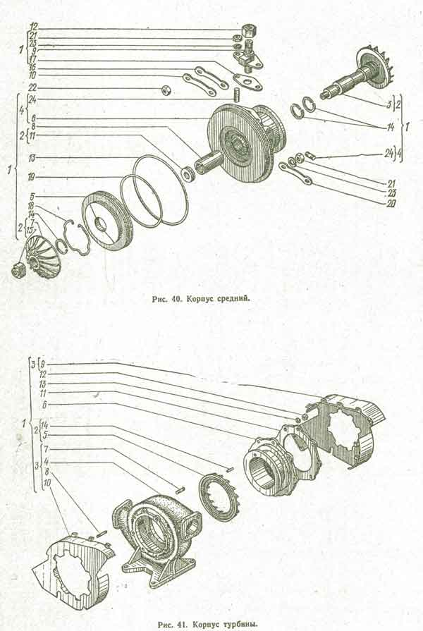 корпус турбины Т-150К, корпус турбины Т-157, корпус турбины Т-158