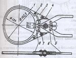 поршневые кольца трактора ДТ-75Н, поршневые кольца трактора ДТ-75М