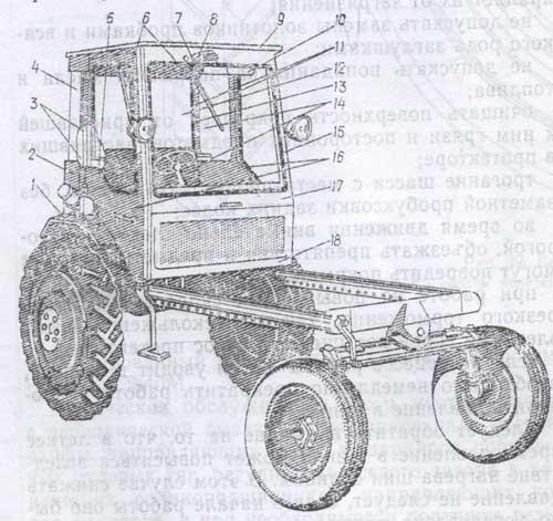 самоходное шасси Т-16М