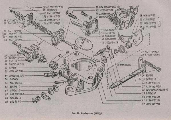 карбюратор УАЗ 3741