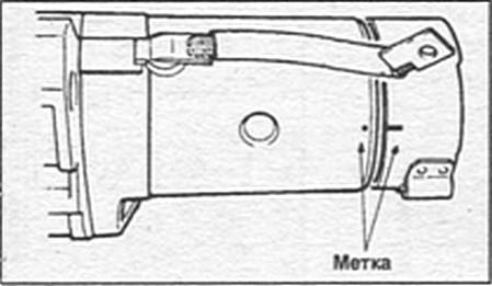 установка задней крышки  по сборочным меткам Kia Sportage