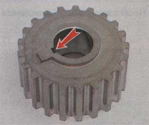 зубчатое колесо Лада Ваз 2112