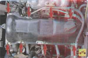 крышка блогка цилиндров Ваз 2107