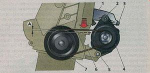 ремень генератора ВАЗ 2115