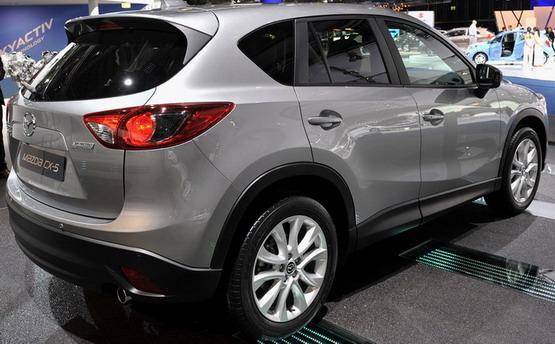 автомобиль Mazda CX-5, внешний вид Mazda CX-5, фото Mazda CX-5