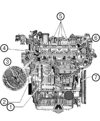 Датчик детонации Volkswagen Tiguan с 2020