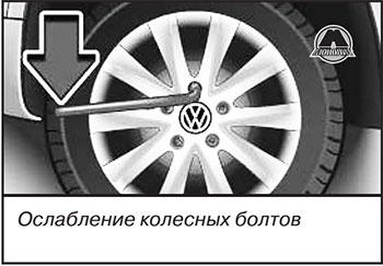 Колесные болты Volkswagen Tiguan