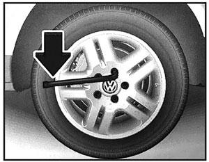 Колпачки колесных болтов Volkswagen Touareg