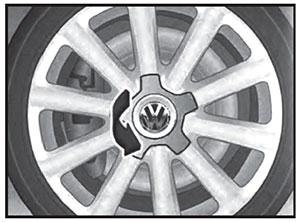 Колпак диска колеса VW Transporter T6