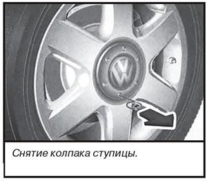 Колпак ступицы VW Transporter T6