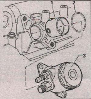 корпус распредвала Volkswagen Passat B7