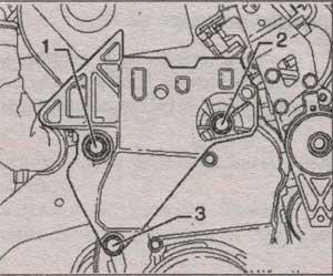 крепление зубчатого ремня Volkswagen Passat B6