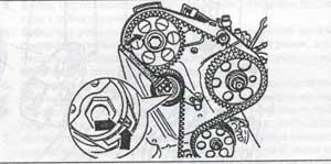 натяжной ролик Volkswagen Sharan, натяжной ролик Ford Galaxy, натяжной ролик Seat Alhambra