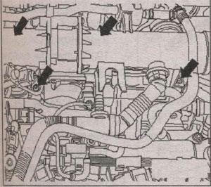 всасывающие патрубки Volkswagen Touran
