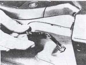 рукоятка насоса Volvo 440, рукоятка насоса Volvo 460, рукоятка насоса Volvo 480