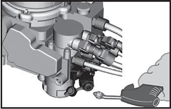 Стояночный тормоз Volvo FH