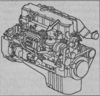 топливный фильтр Volvo FL, топливный фильтр FE