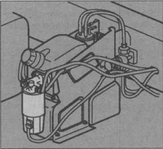 топливная система Volvo FL, топливная система FE