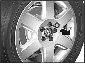 Колесные болты Volkswagen Touareg