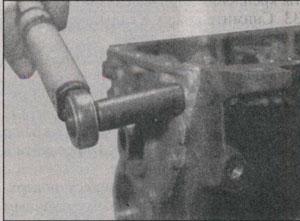 крепление сальника Volkswagen Golf III, крепление сальника Volkswagen Vento