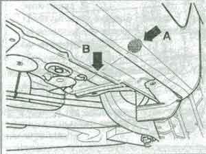 пята подъёмника Volkswagen Golf 5, пята подъёмника Jetta, пята подъёмника Touran