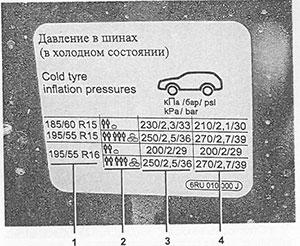 Шины VW Polo