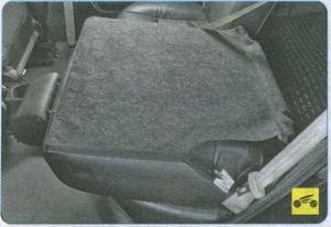 спинка сидения Geely MK, рукоятка фиксатора Geely MK
