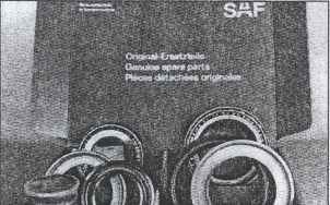 замена колесных подшипников SAF