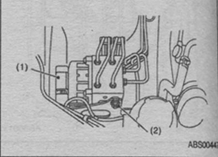 замена модуля управления ABS в Subaru Impreza